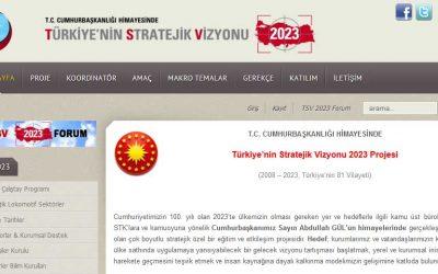 Türkiye'nin Stratejik Vizyonu 2023 Projesi